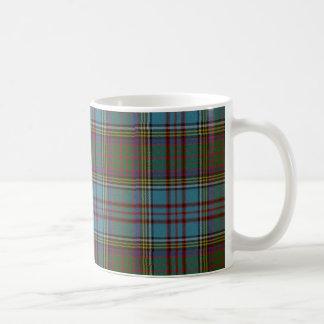 Taza del tartán del clan de Anderson
