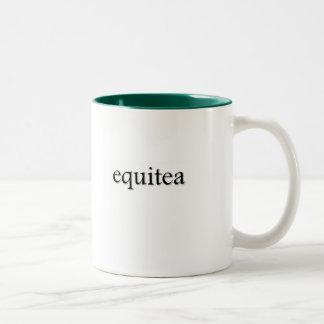 Taza del té de Equitea