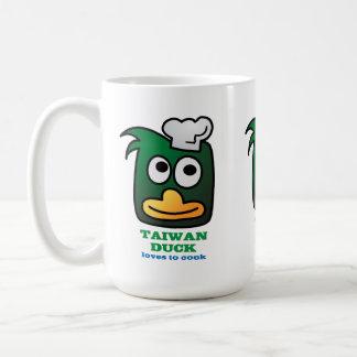 Taza del té de la taza de café del pato de Taiwán