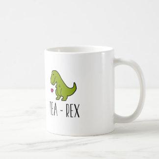 Taza del té de T-Rex