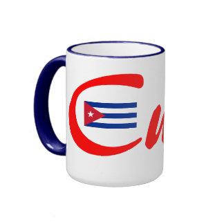 Taza del té del café de Cuba