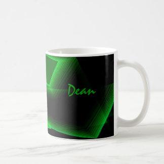 Taza del té del decano