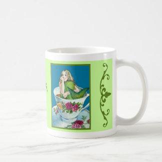 Taza del té I de la sirena (versión verde)
