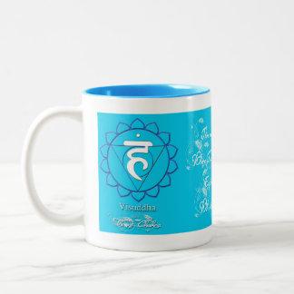 Taza del té o de café de Chakra de la garganta