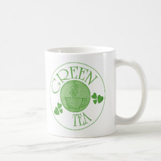 Taza del té verde