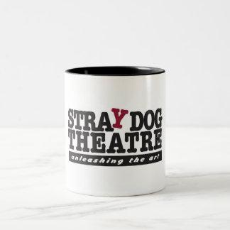 Taza del teatro del perro perdido (negro)