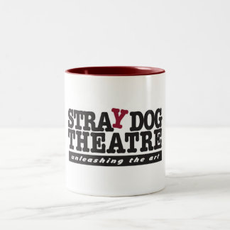 Taza del teatro del perro perdido (roja)