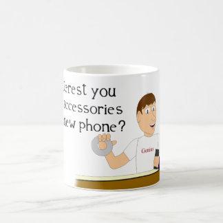 Taza del teléfono de la cinta aislante