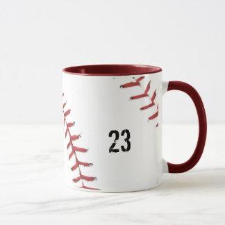Taza del tema del béisbol