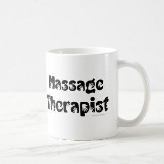 Taza del terapeuta del masaje