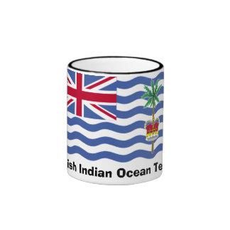 Taza del territorio del Océano Índico británico