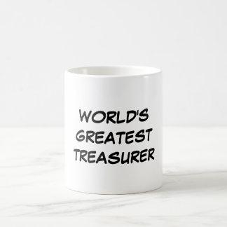 Taza del tesorero más grande del mundo