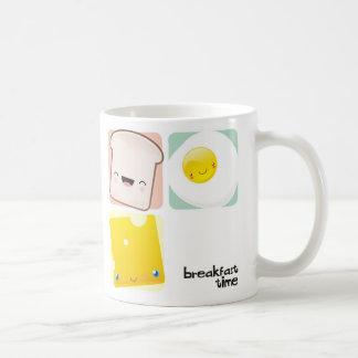 Taza del tiempo de desayuno