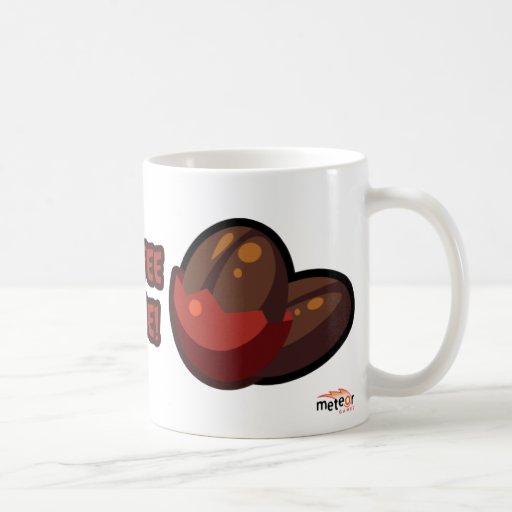 Taza del tiempo del café