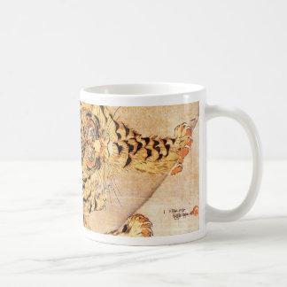 Taza del tigre de Kuniyoshi