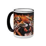 Taza del tigre del poder de fuego