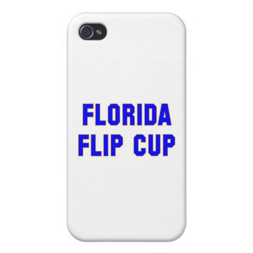 Taza del tirón de la Florida iPhone 4 Cárcasa