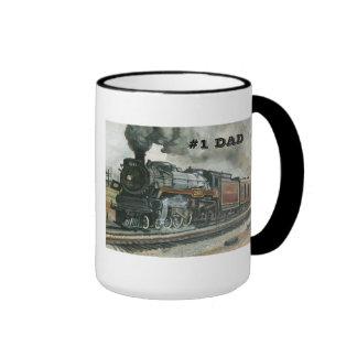 Taza del tren para el papá #1