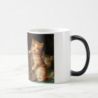 Taza del trío del gato