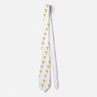 Taza del trofeo corbatas