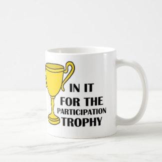 Taza del trofeo de la participación