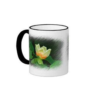 Taza del tulipán del árbol de álamo