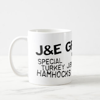 Taza del ultramarinos de J y de E