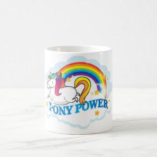 Taza del unicornio del poder del potro