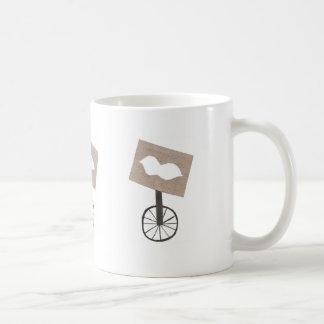 Taza del Unicycle del bigote