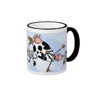 taza del vaca-uno-amortiguador auxiliar