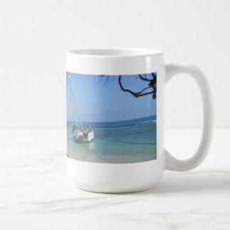 Taza del vago de la playa de Haití