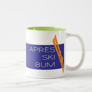 Taza del vago del esquí de Apres