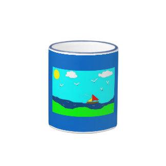 taza del velero