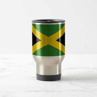 Taza del viaje con la bandera de Jamaica