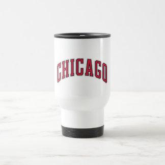 Taza del viaje de Chicago