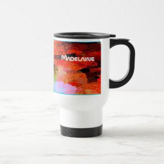 Taza del viaje de Colorfull para Madelaine