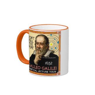 Taza del viaje de conferencia de Galileo 1632