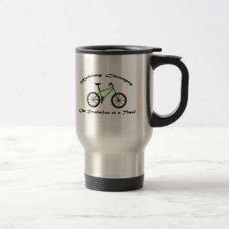 Taza del viaje de la bicicleta