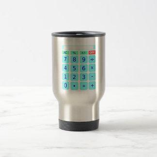Taza del viaje de la calculadora