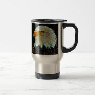Taza del viaje de la fantasía de Eagle calvo