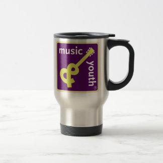 Taza del viaje de la música y de la juventud