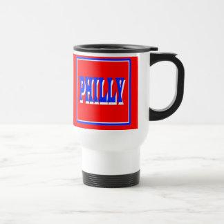 Taza del viaje de la Plaza Roja de Philly