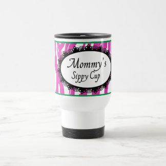 Taza del viaje de la taza de Sippy de la mamá