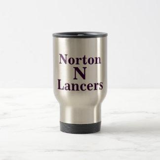Taza del viaje de los lanceros de Norton