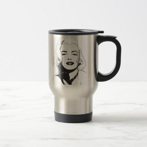 Taza del viaje de Marilyn - cuatro