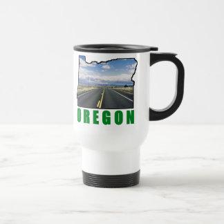 Taza del viaje de Oregon - zurda
