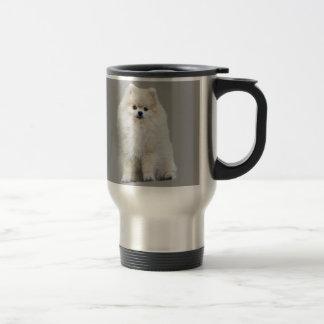 Taza del viaje de Pomeranian