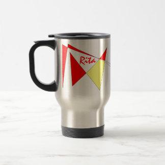 Taza del viaje de Rita