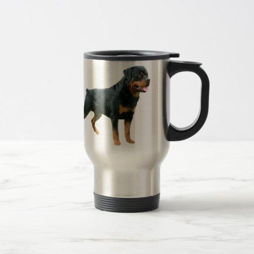 Taza del viaje de Rottweiler