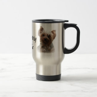 Taza del viaje de Yorkshire Terrier